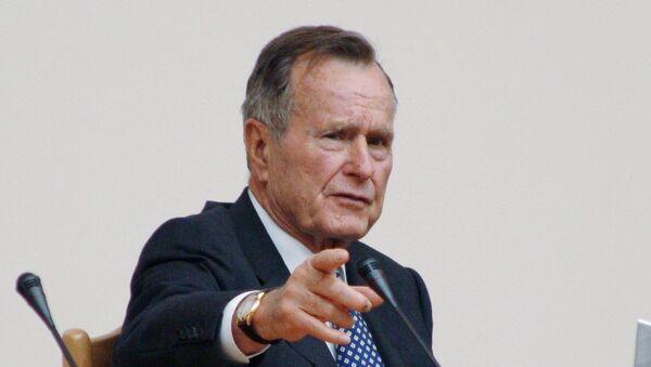 41-й президент США Джордж Буш-старший, архивное фото