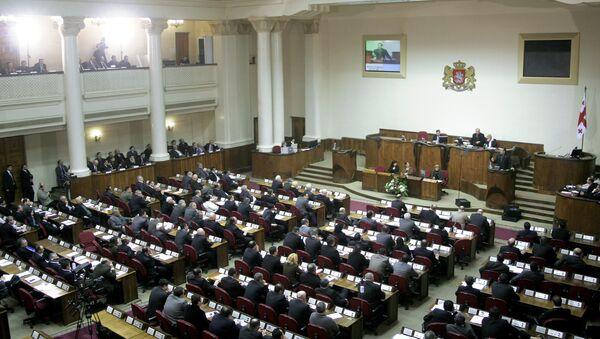В парламенте Грузии