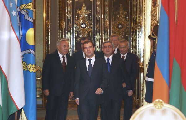 Саммит ОДКБ в Кремле