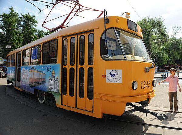 Трамвай в Москве. Архив