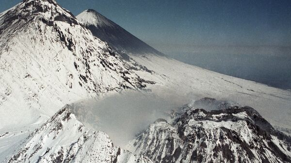 Вулкан. Архивное фото