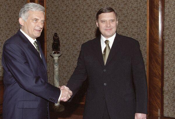 Экс-премьер Польши, депутат Европарламента Ежи Бузек