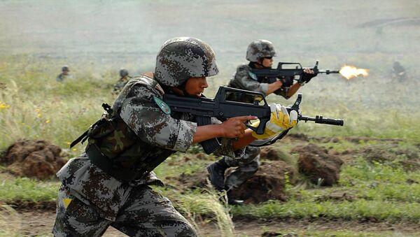 Антитеррористические учения стран-членов ШОС Мирная миссия. Архивное фото