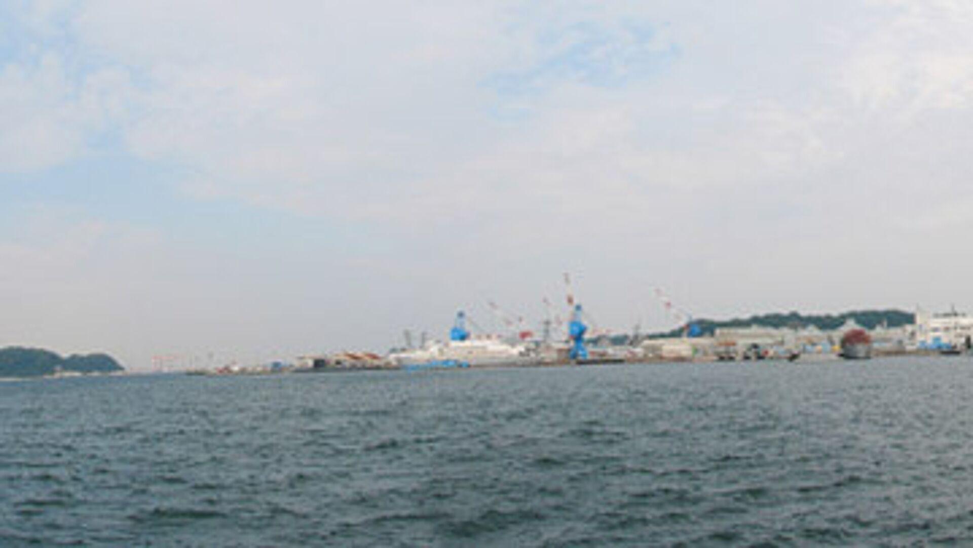 Морской порт Йокосука - РИА Новости, 1920, 08.11.2020