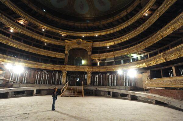 Реконструкция Большого театра в Москве
