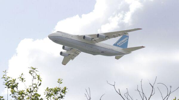 Вылет из Мумбаи нарушившего правила транзита Ан-124 отложен до вечера