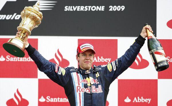 Себастьян Феттель выиграл Гран-при Великобритании