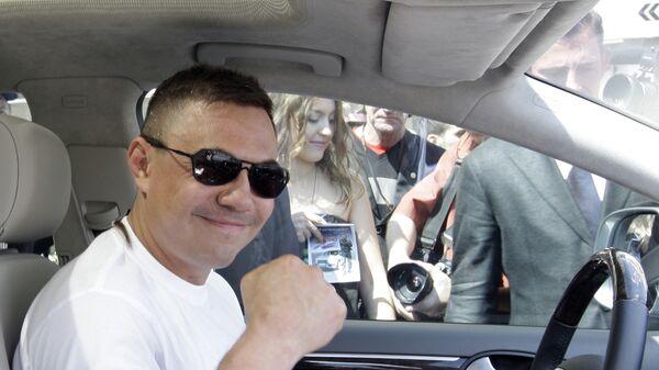 Благотворительный спортивный автопробег Вместе с Костей Цзю стартовал в Москве