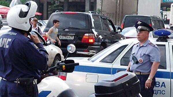 Милиционер получил травмы при задержании скрывшихся с места ДТП