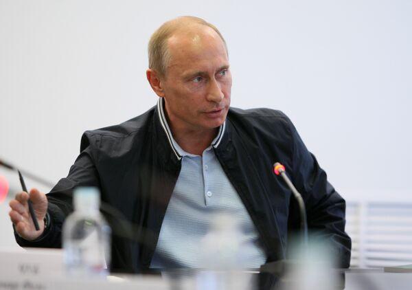 Премьер-министр В.Путин