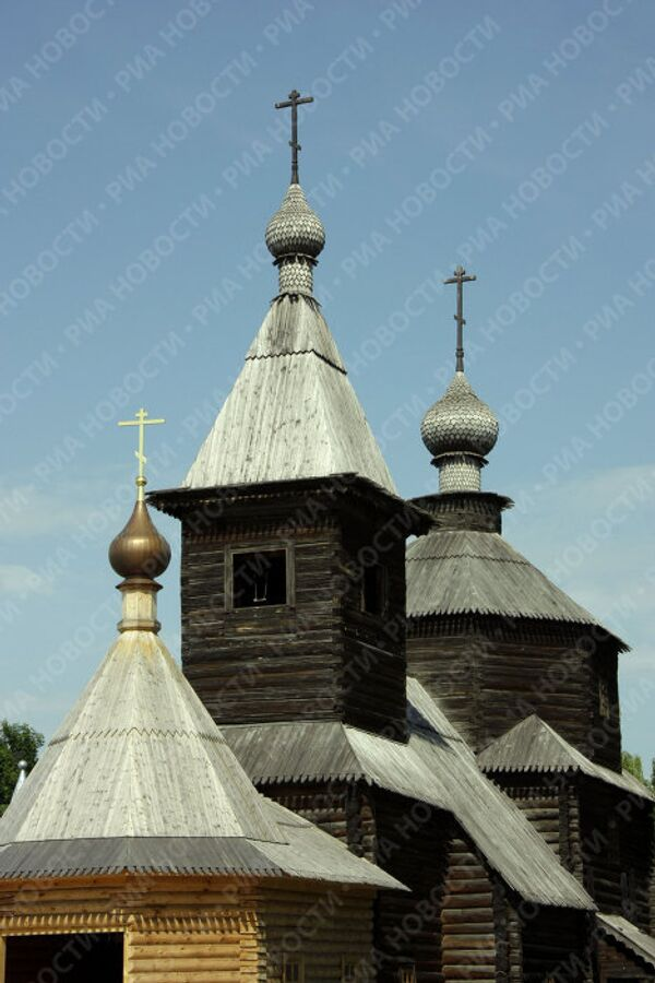 Храм Святой Троицы Свято-Троицкого монастыря в Муроме