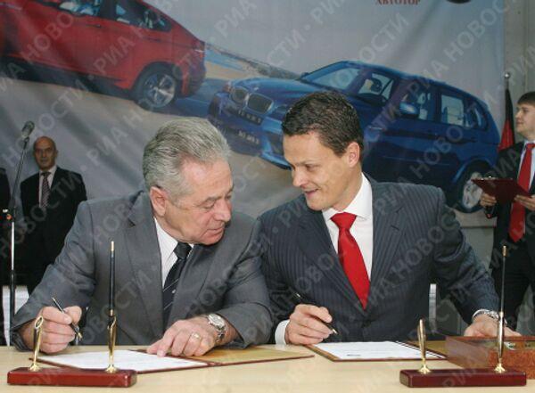 Предприятие Автотор Холдинг начинает производство внедорожников BMW X5 и X6 на своем заводе в Калининградской области