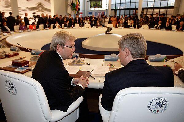 Заседание Саммита G8. Архив