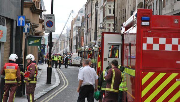 Британские пожарные. Архивное фото