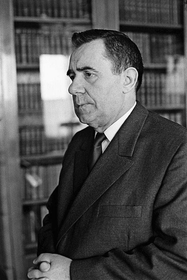 Министр иностранных дел СССР А.А.Громыко