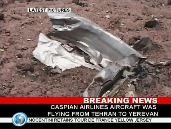 Крушение Ту-154 в Иране