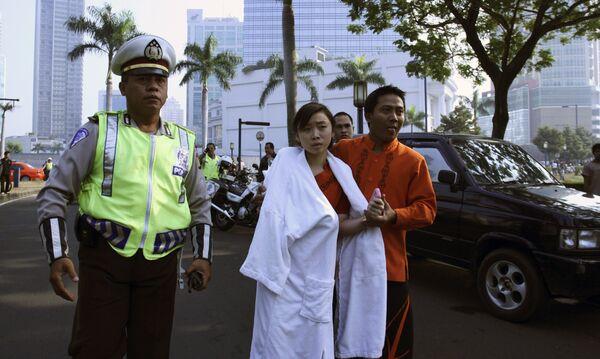 Взрыв в Джакарте