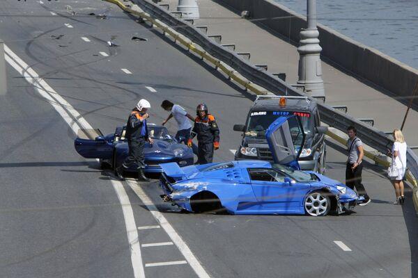 Шоу Bavaria Moscow City Racing