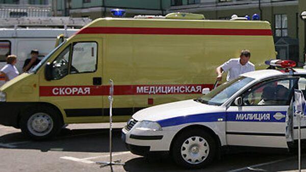 Скорая помощь и милиция