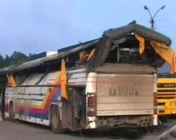 Под Новосибирском перевернулся рейсовый автобус. Погибли 9 человек