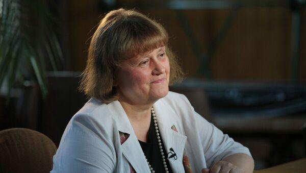 Космонавт Светлана Савицкая