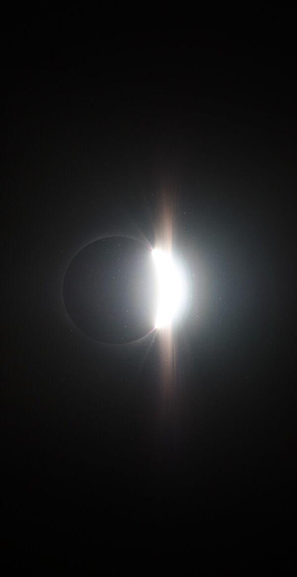 Полное солнечное затмение