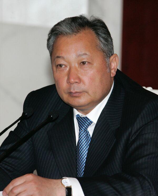 Визит президента Киргизии в Россию