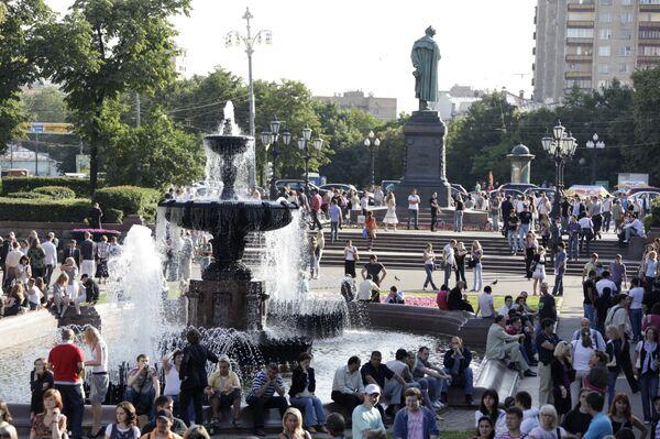 Столичные фонтаны перестанут работать к выходным