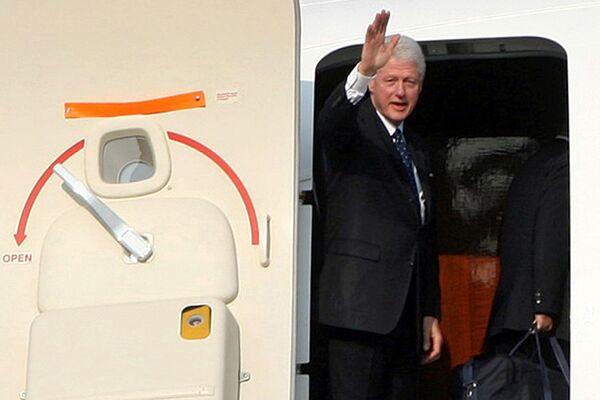 Бывший президент США Билл Клинтон в КНДР