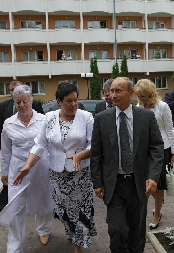 Премьер-министр РФ Владимир Путин в Кисловодске