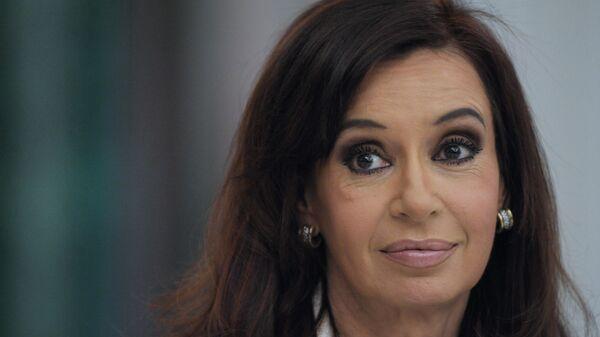 Президент Республики Аргентина Кристина Фернандес де Киршнер