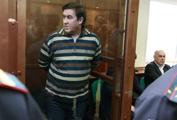 Генерал-лейтенант Госнаркоконтроля Александр Бульбов во время заседания Мосгорсуда