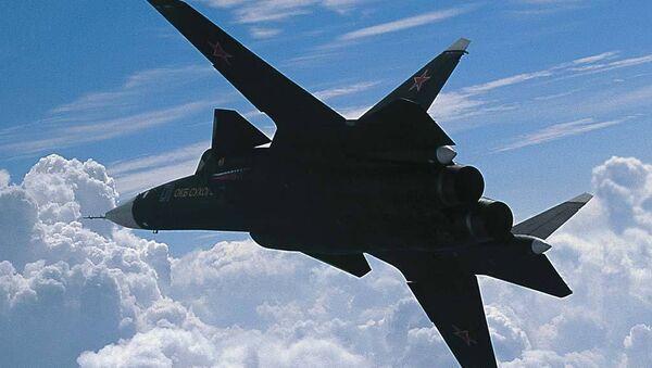 Экспериментальный истребитель Су-47 Беркут