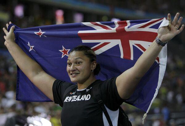 Новозеландская спортсменка Валери Вили