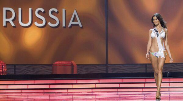 Мисс Россия 2009 Софья Рудьева не попала в число 15-ти финалисток  конкурса Мисс Вселенная