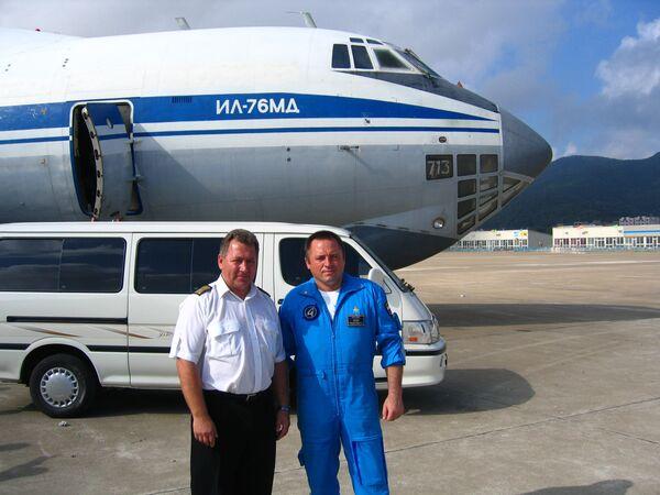 Сергей Егоров (слева) и Игорь Ткаченко