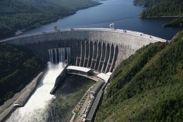 Саяно-Шушенская ГЭС. Архив