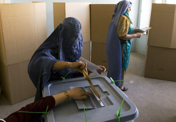 Президентские выборы в Афганистане