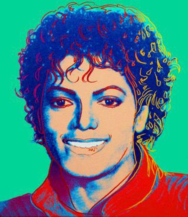Портрет короля поп-музыки Майкла Джексона кисти знаменитого художника Энди Уорхола
