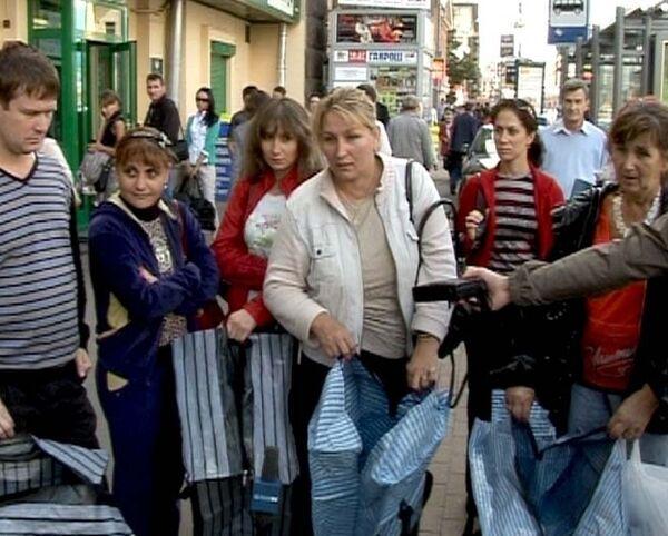 Торговцы с Черкизовского рынка пришли к властям с пустыми сумками