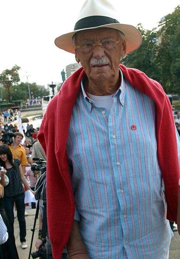 Фото №8 Сергей Михалков для аудиослайдшоу 27-09-2009