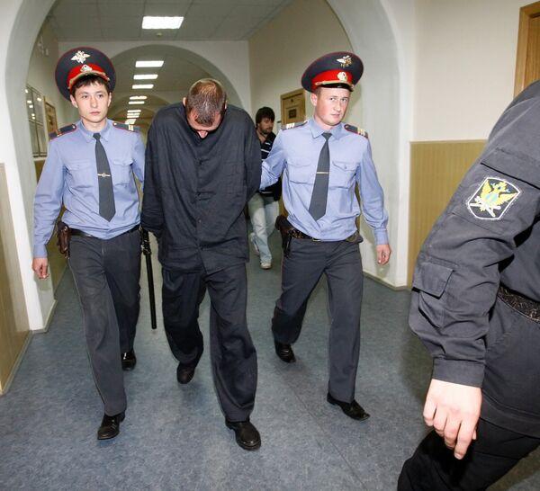 Судебное заседание по избранию меры пресечения подозреваемым в захвате судна Арктик Си прошло в Басманном районном суде