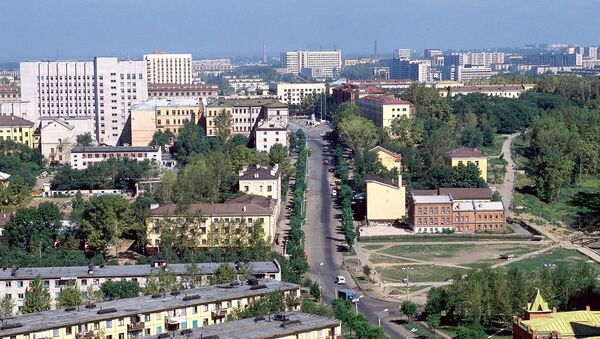 Панорама Хабаровска