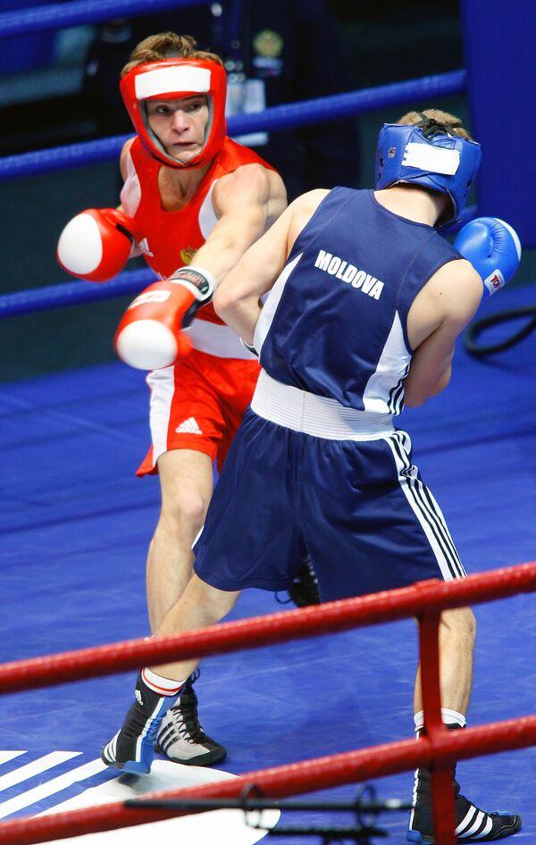 Российский боксер Сергей Водопьянов