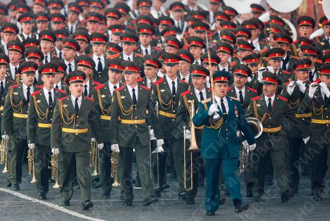 Открытие первого международного фестиваля военных оркестров Спасская башня