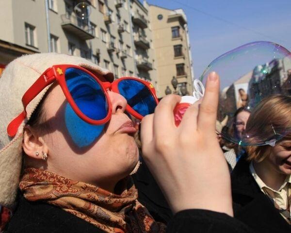 Столица с характером, или Как Москва отметила день рождения