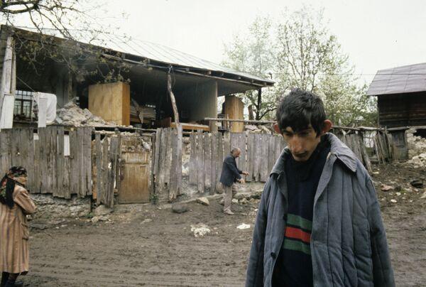 В Грузии после землетрясения