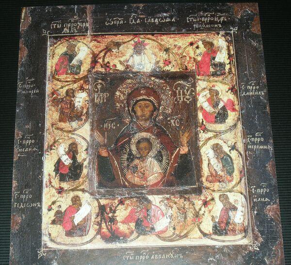 Икона Курской Коренной Божией матери