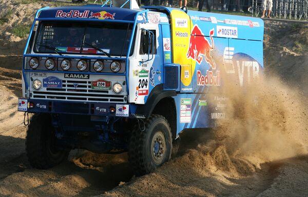 Старт международного ралли Шелковый путь-2009 серии Дакар (Dakar series)