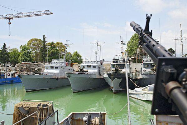 ФСБ РФ будет задерживать суда-нарушители морской границы Абхазии